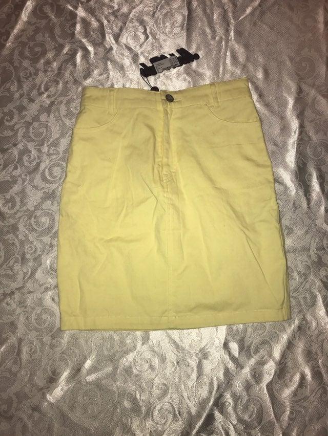 Yellow skirt Sz S