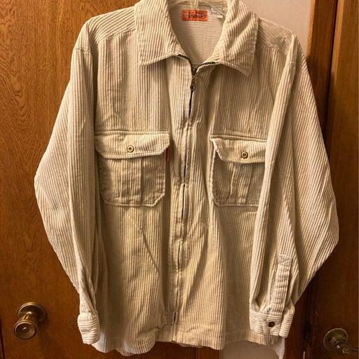 Vintage Bugle Boy Authentics Zipper Shir