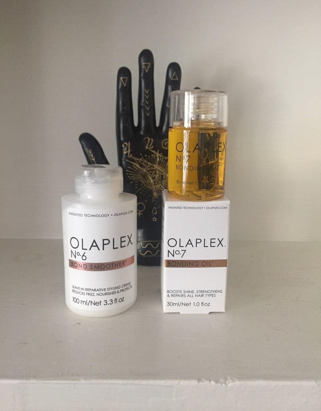 Olaplex oil & leave-in cream set