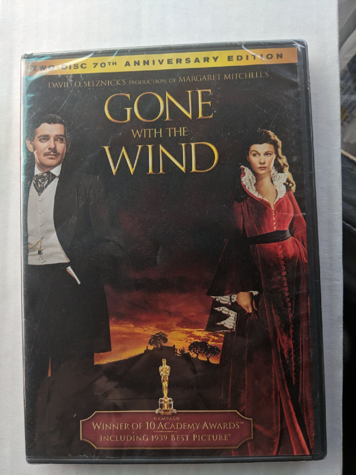 gone with the wind 2 disc 70th Dvd set