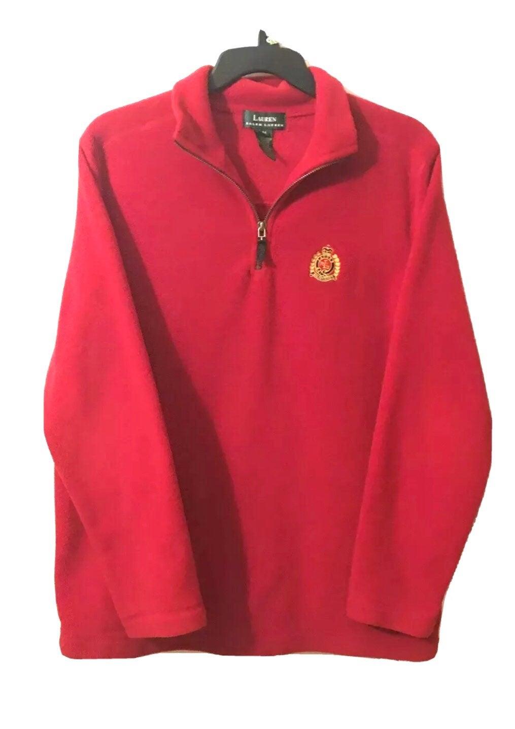 RALPH LAUREN Crest Men's Fleece Jacket