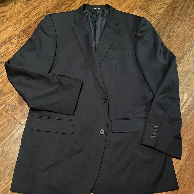 Alfani Navy Sport Coat 44L