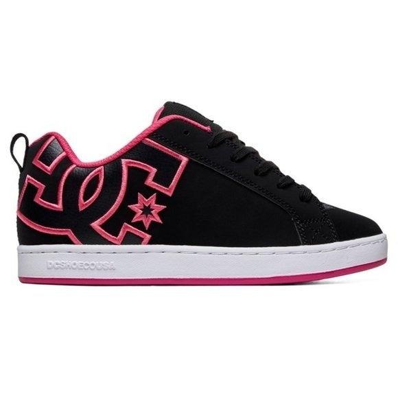 DC Court Graffik Low Top Skate Sneakers