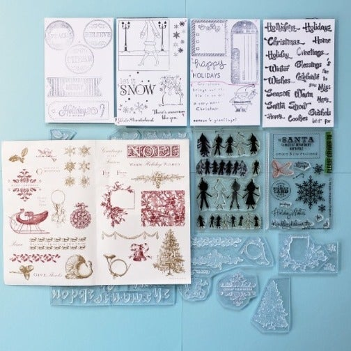 Stamps - Christmas Images & Sentiments