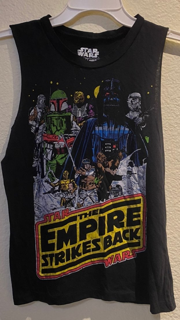 Star Wars muscle tee
