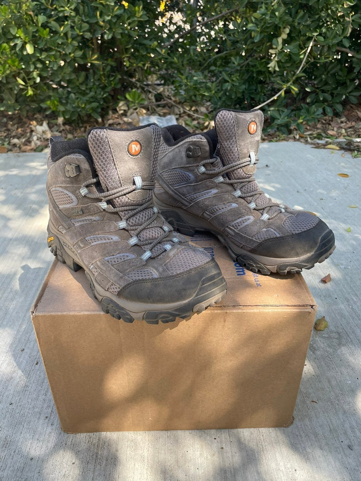 Womens Merrell Waterproof Hiking Boots