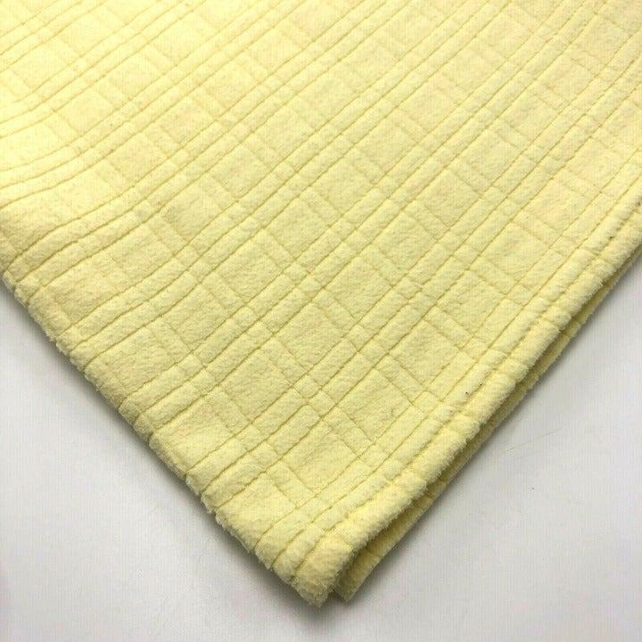 WAMSUTTA BABY Blanket Yellow Textured
