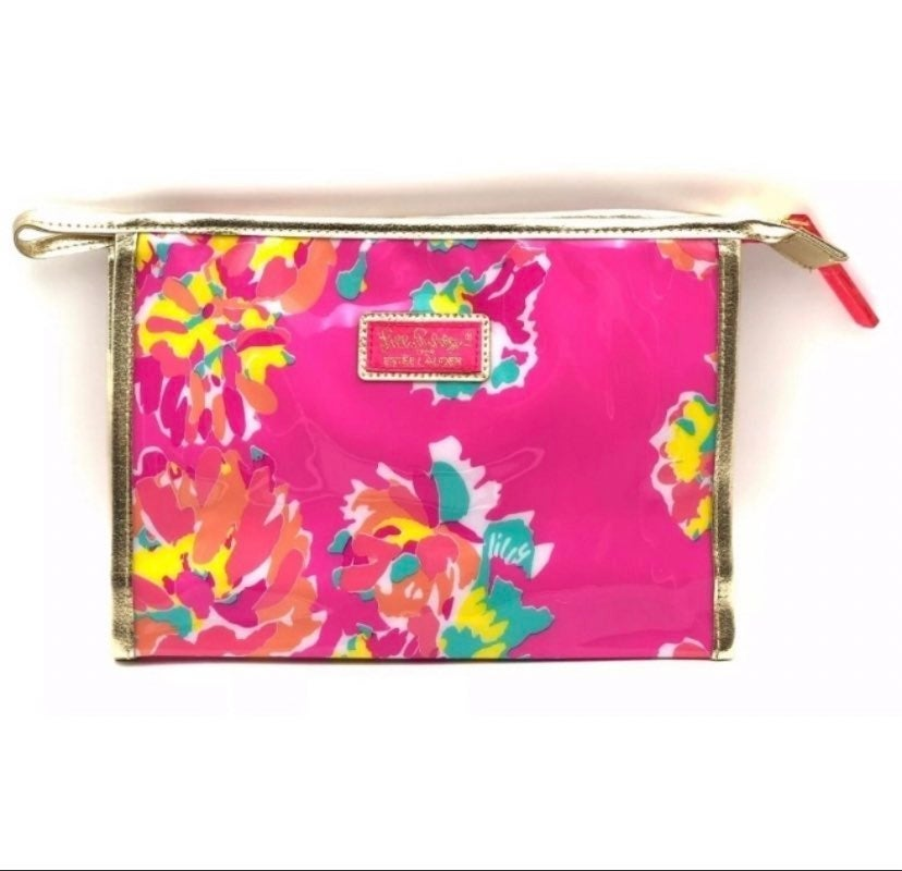 Lilly Pulitzer Pink Cosmetic Bag