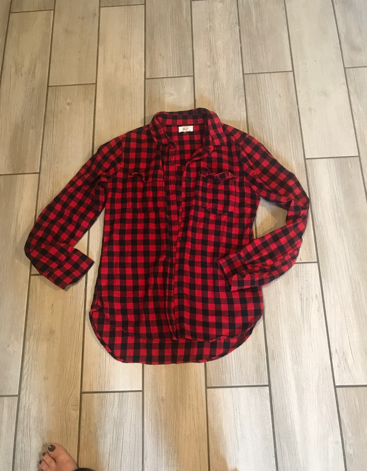 Womens buffalo plaid Flannel