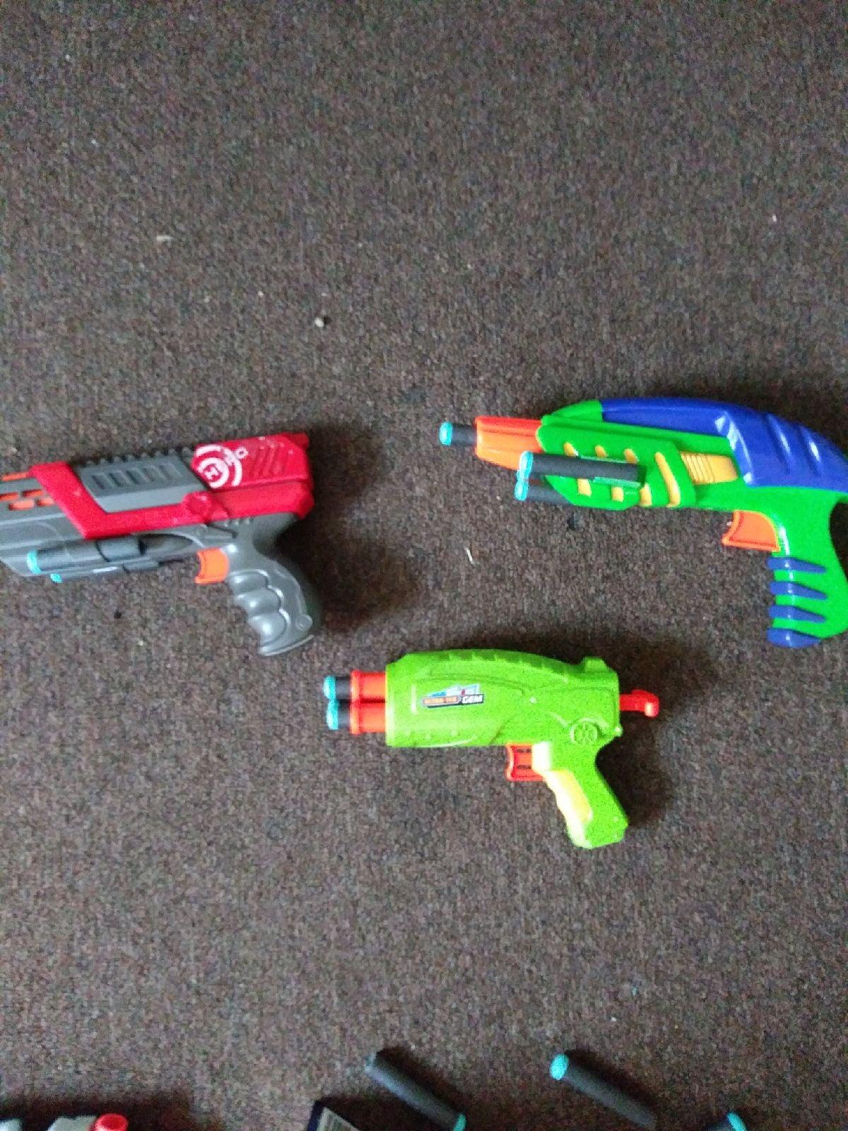 Nerf Gun Trio
