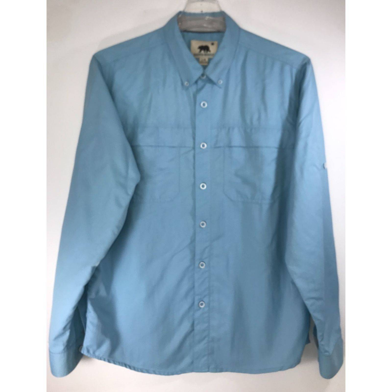 Dakota Grizzly Blue Vented Outdoor Shirt