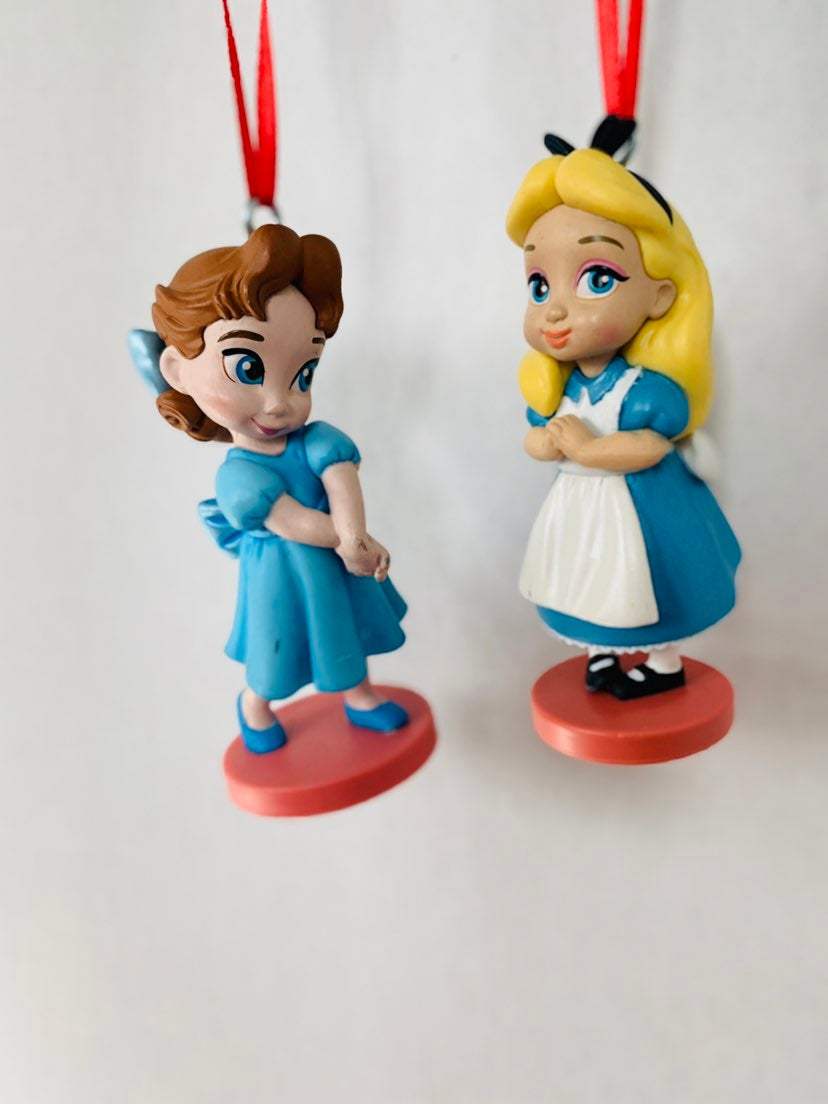 PVC Ornaments Alice & Wendy