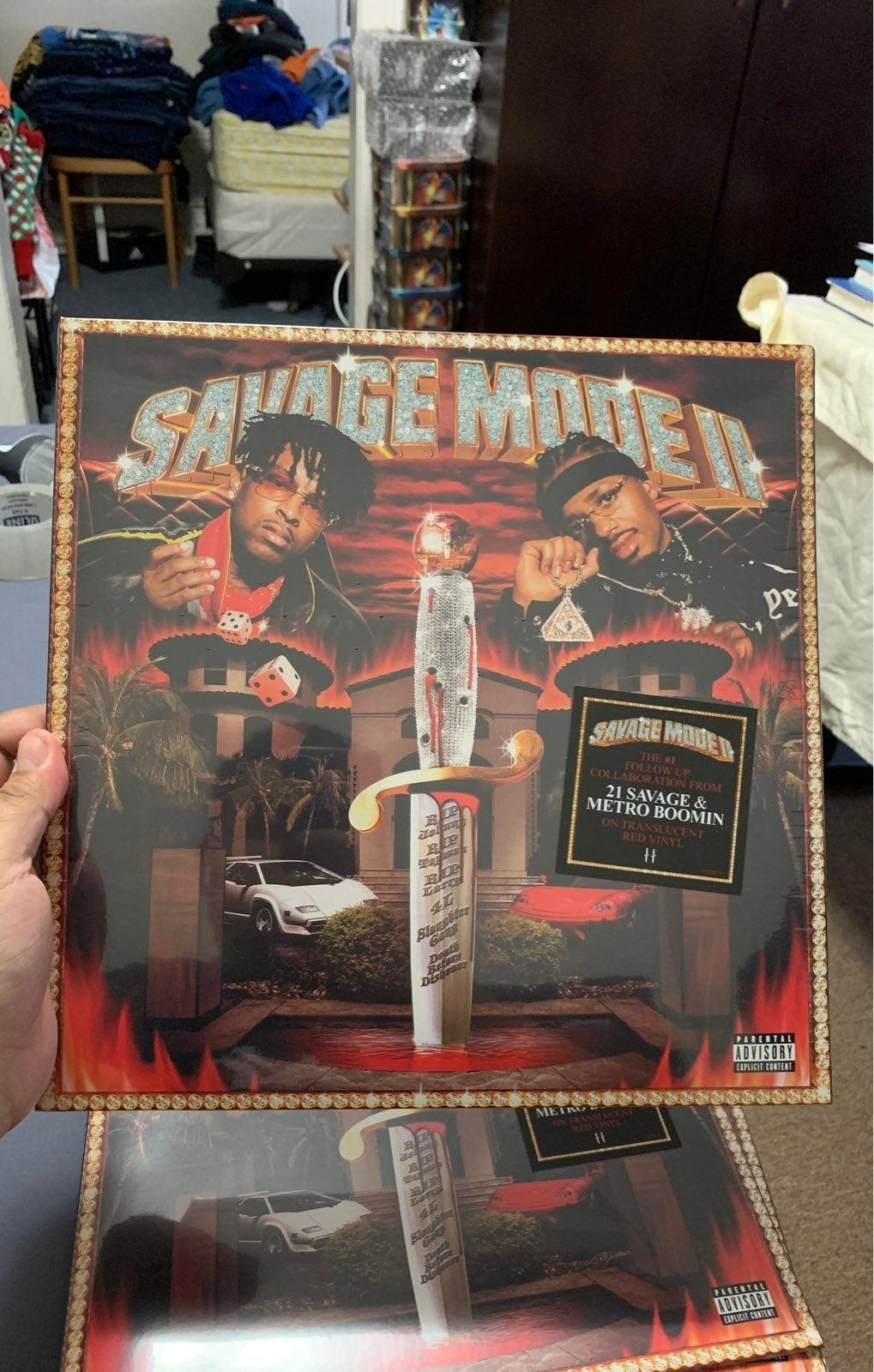21 Savage Mode II Exclusive Red Vinyl