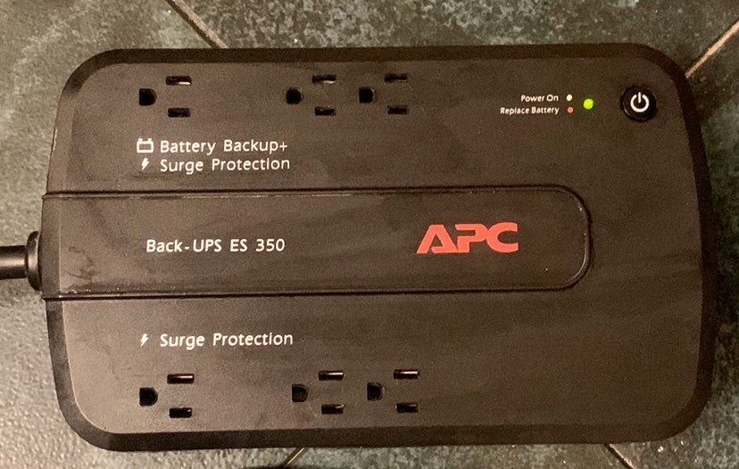 APC Battery Back-Up and Surge Protection