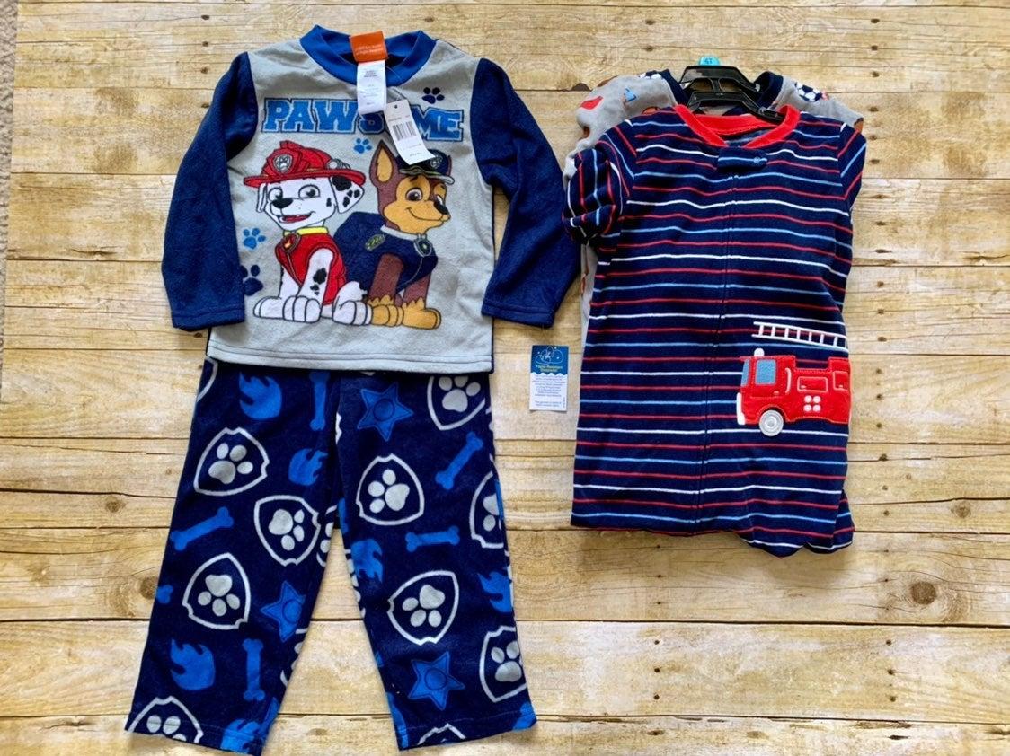 Boys Fleece Pajamas Bundle