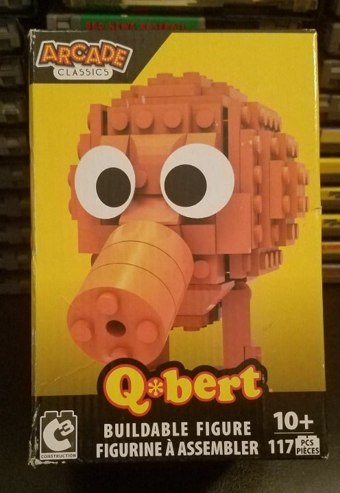 Arcade Classics: Q*Bert Buildable Figure