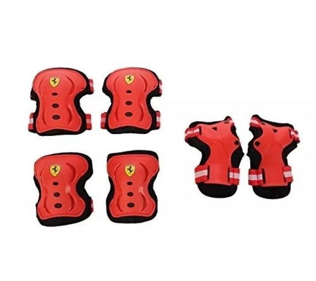 Ferrari skate protector 6pc set for kids