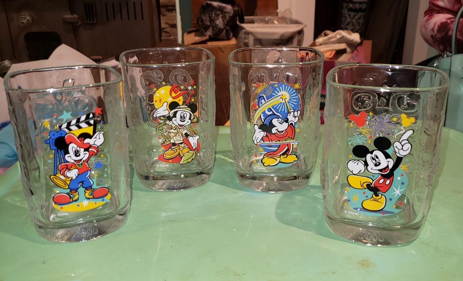 DISNEY COLLECTOR GLASSES