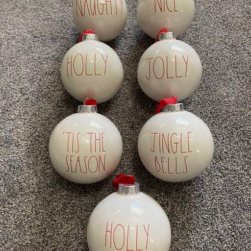 Rae Dunn Ornaments