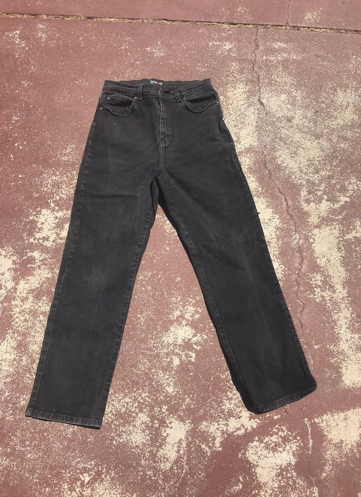 Style & Company Sz12 Women's Black Jeans