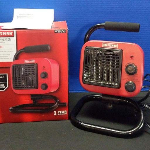 Craftsman Workshop Heater 750/1500 Watt