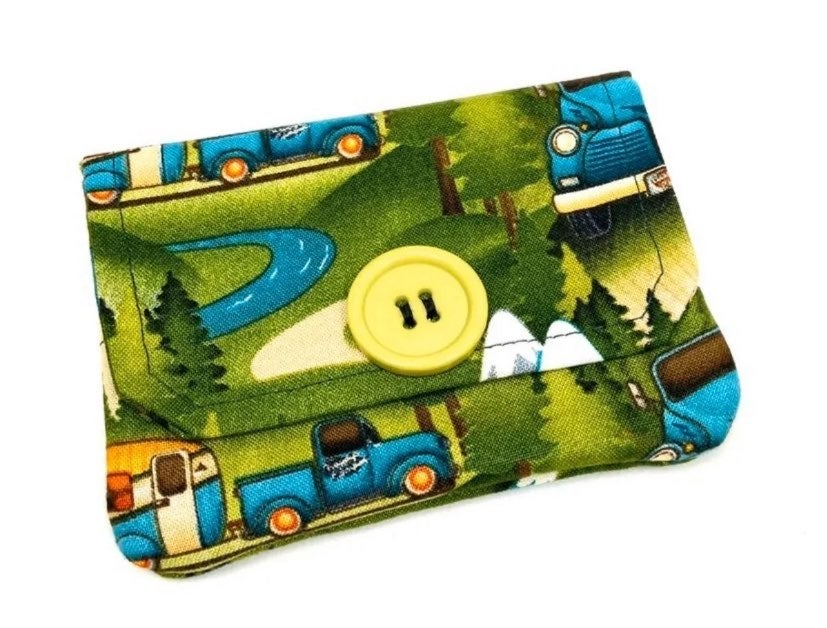 Outdoors Camping Fabric Card Wallet