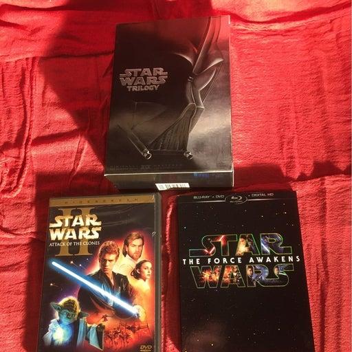 Star Wars Blu-ray & DVDs