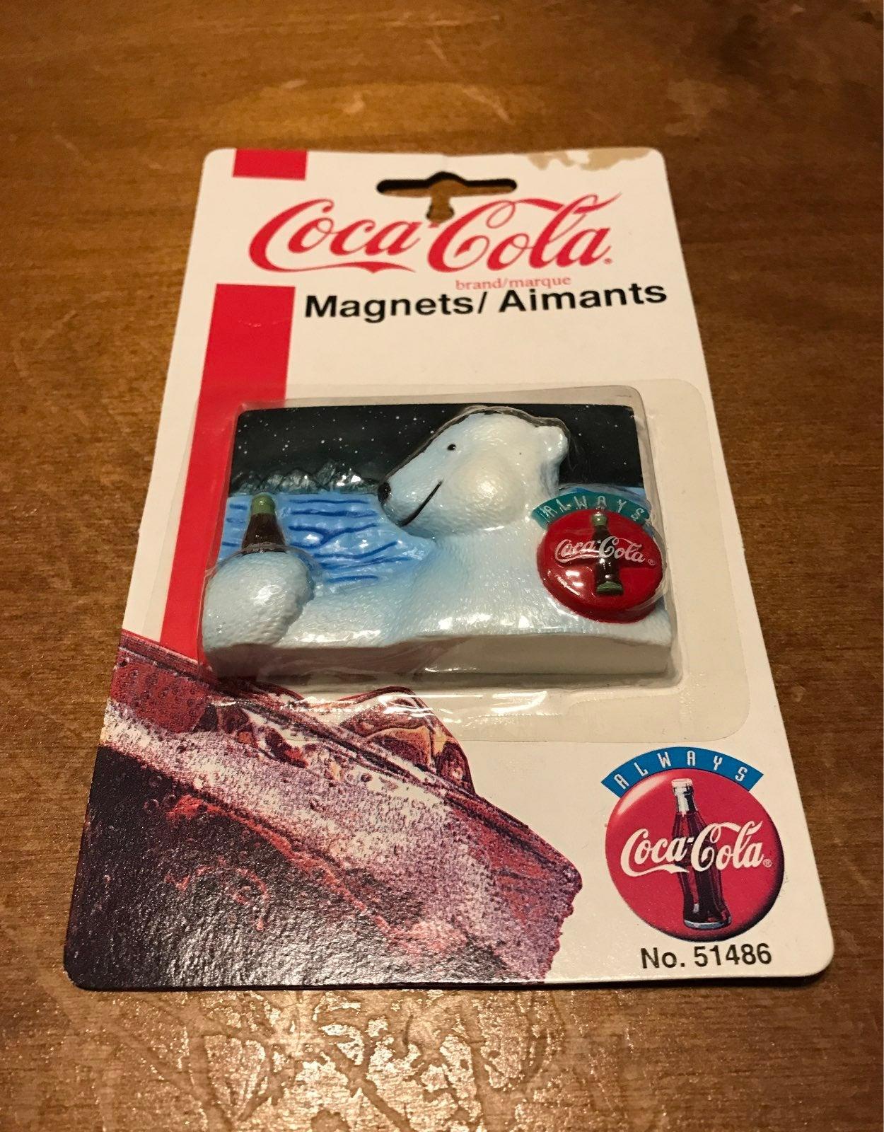 1997 Coca Cola Magnet