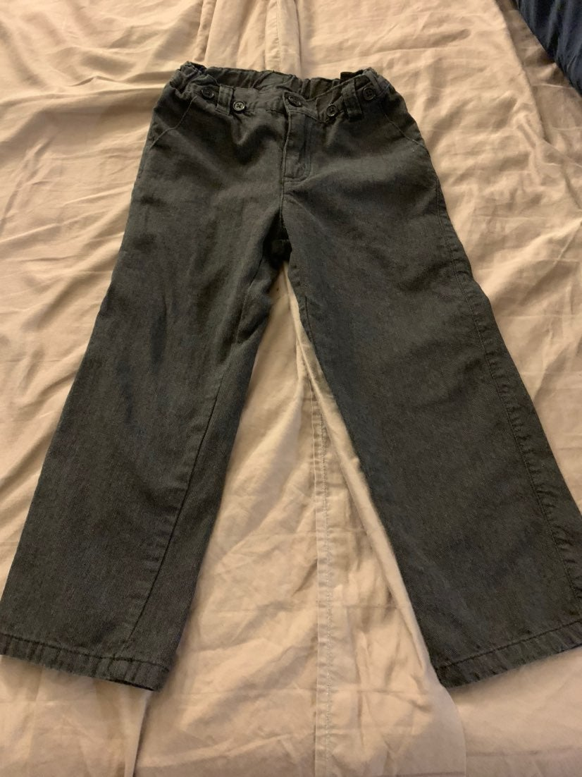Pants Kids for Us size 4T gray boys
