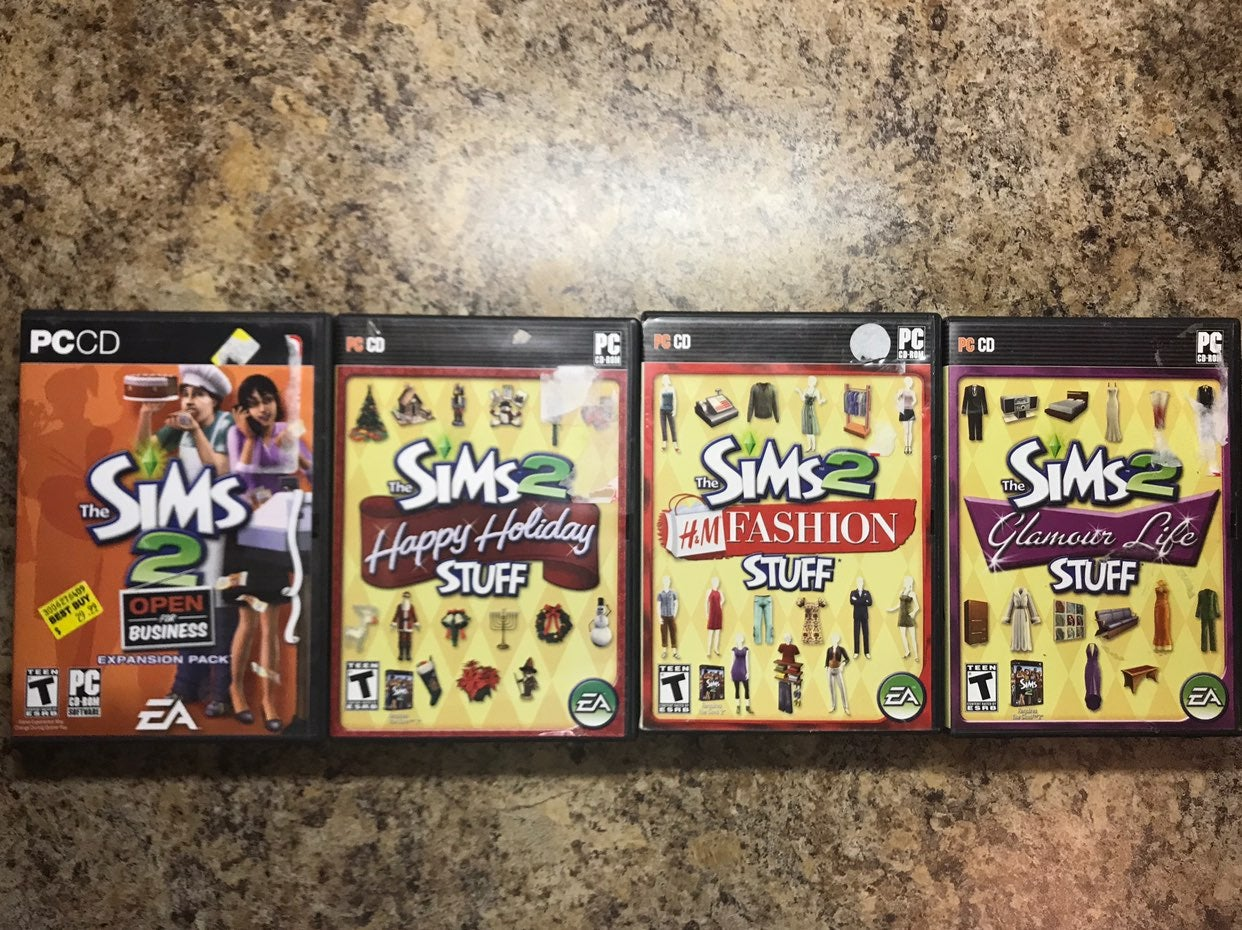 Lot Of The Sims 2 PC Games - 40% Off!
