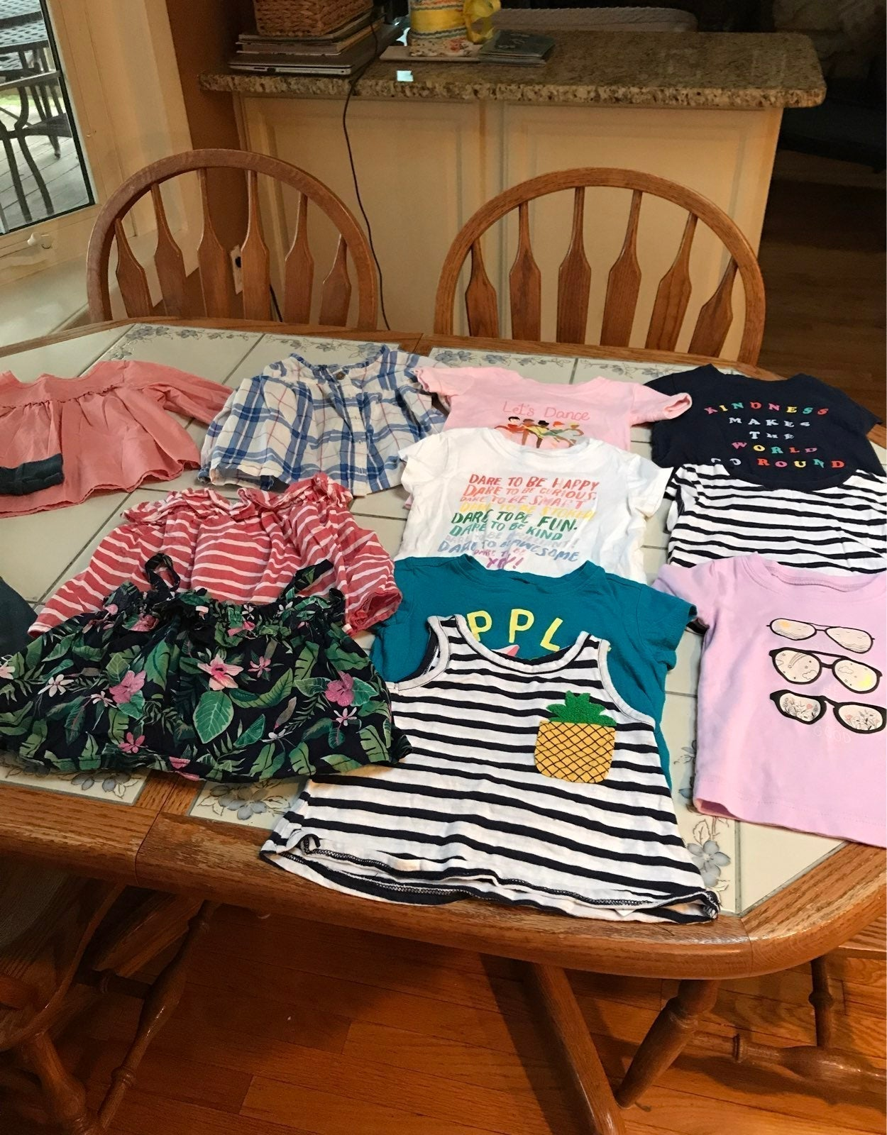 Baby girl bundle size  12 months
