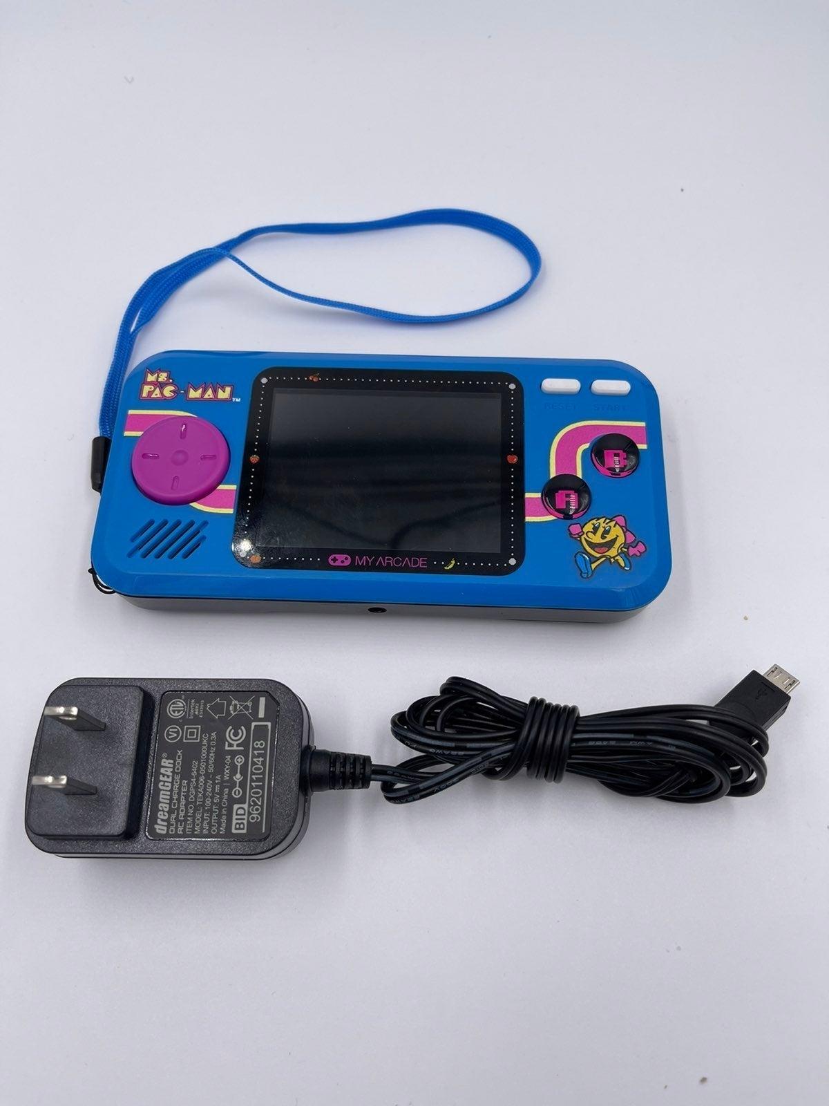 Ms. Pac-Man Pocket Player Portable Gamin