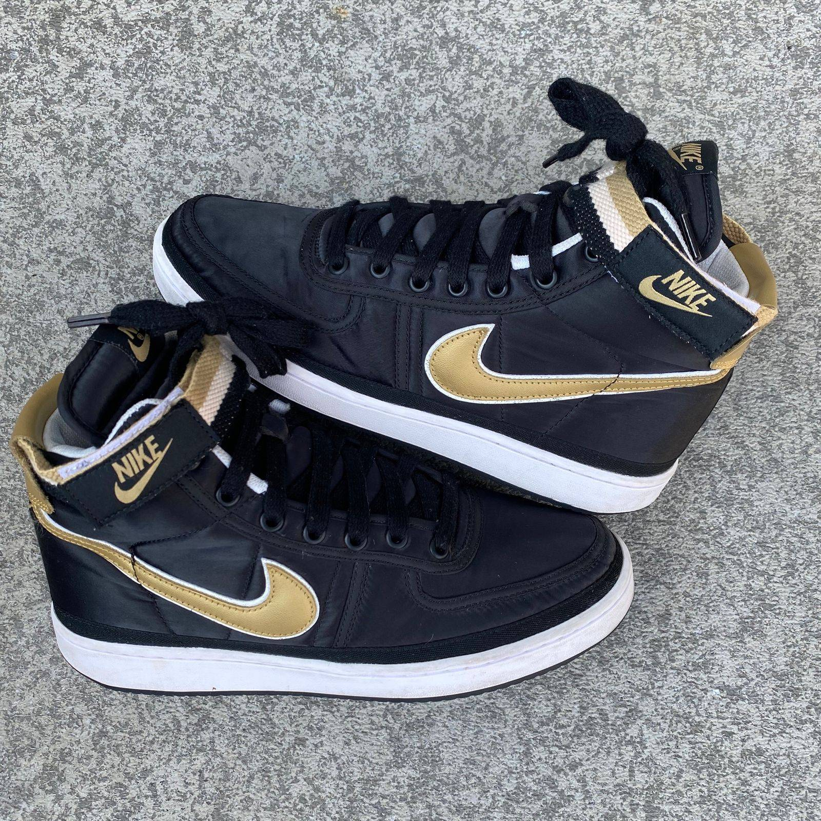 Nike Vandal High Supreme 2018 Black/Gold