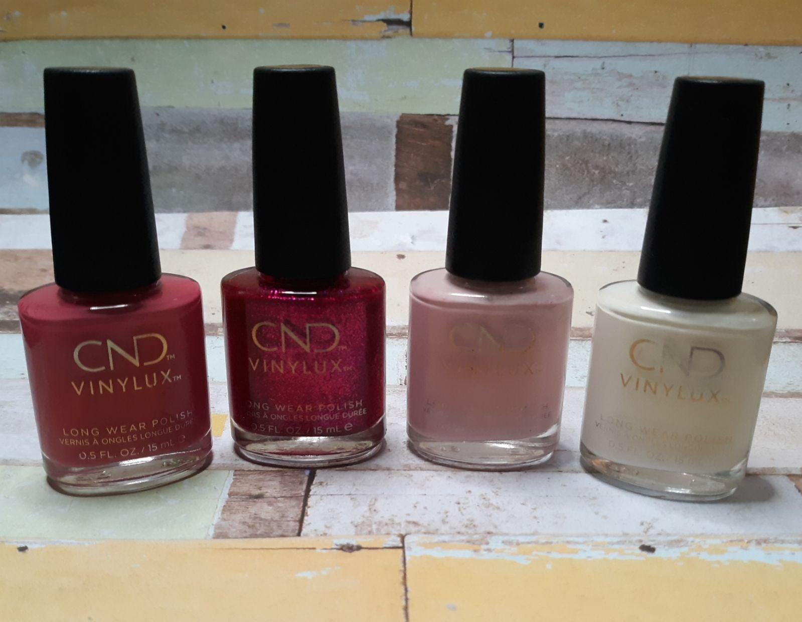 CND VINYLUX Nail Polish Bundle