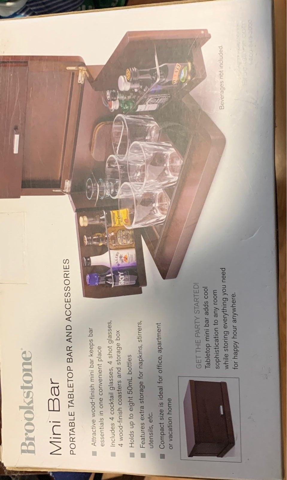 Brookstone Mini Bar