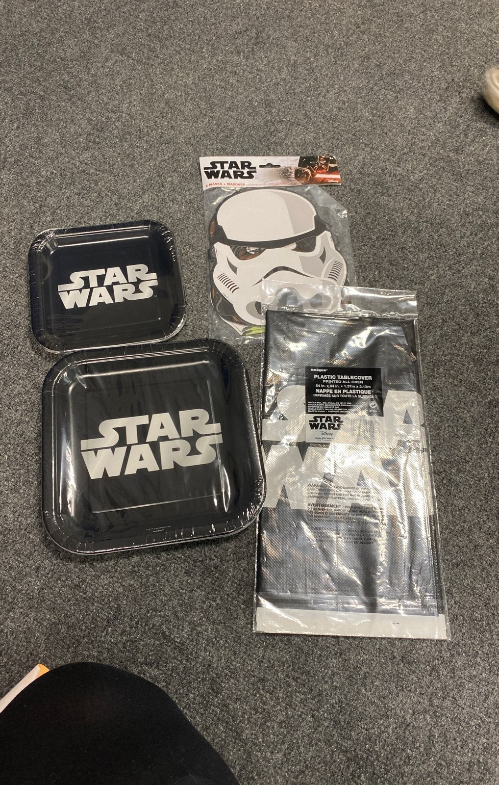 Star wars party pack
