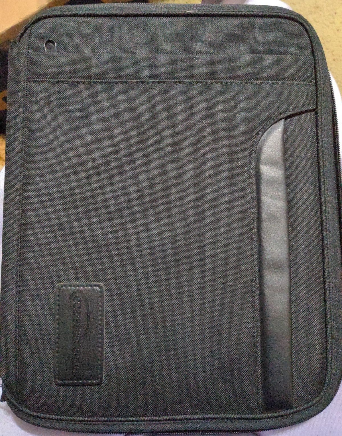 Black Laptop case 12inx9in