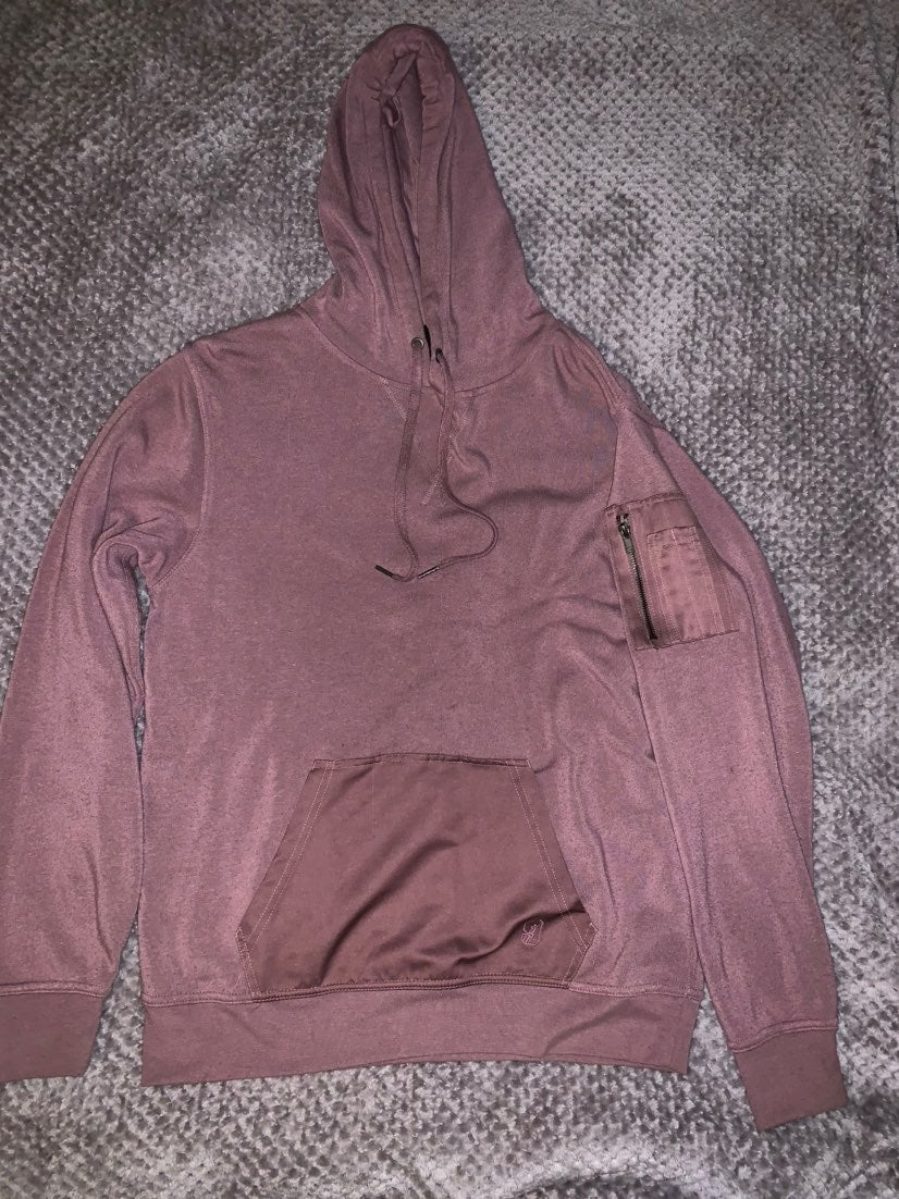 Pink Mauve Color hoodie