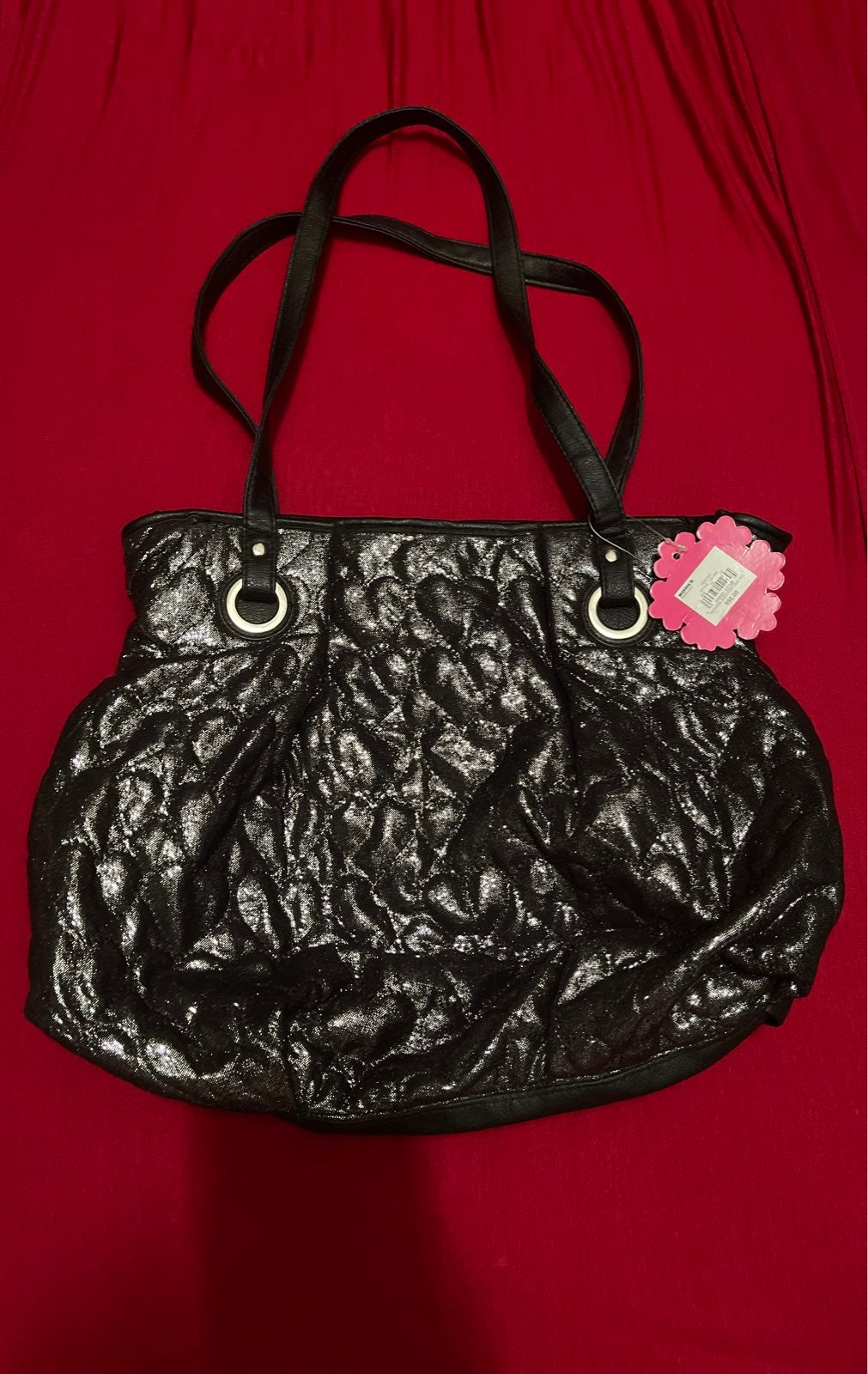 VICTORIA SHOPPER QUILTED PURSE