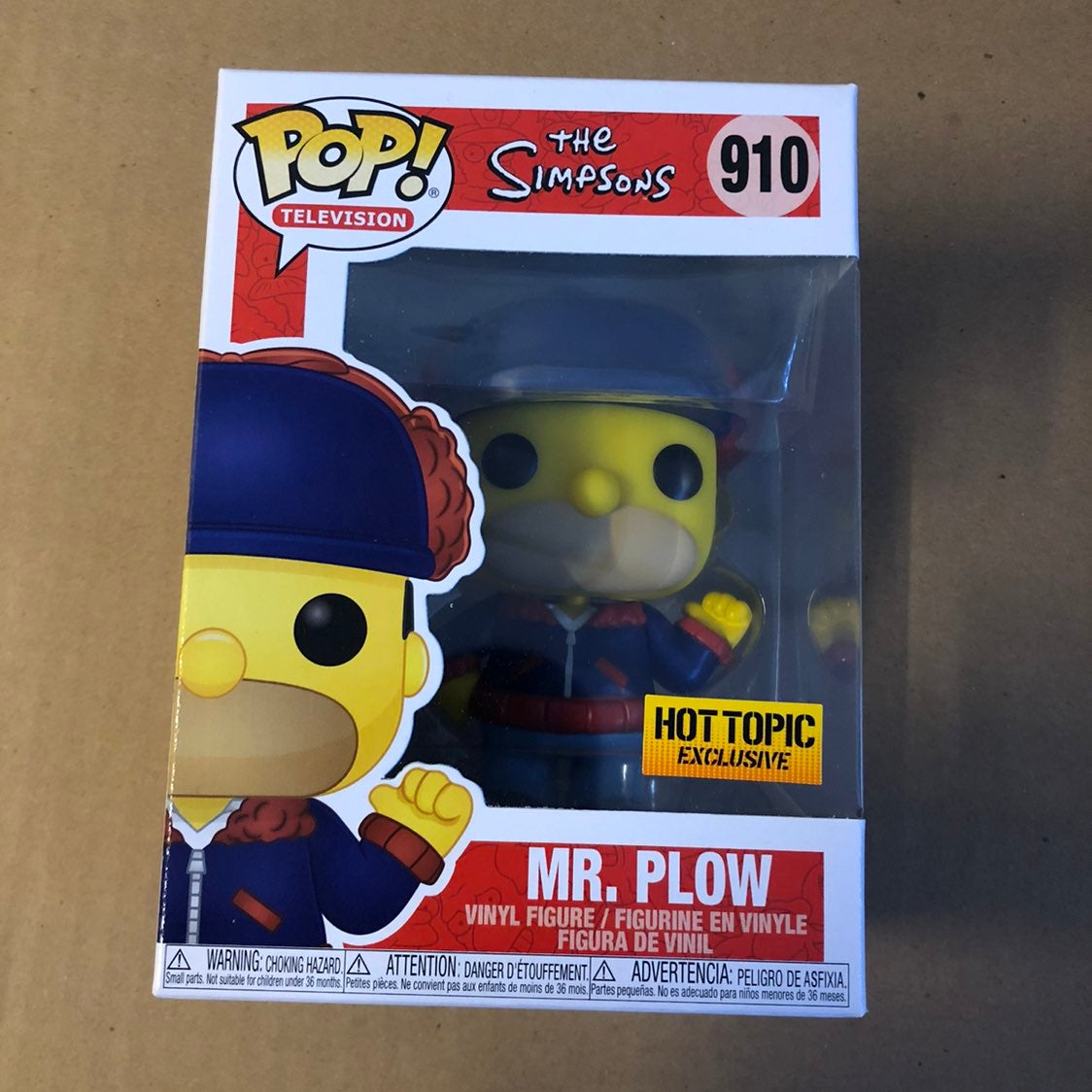 Funko Pop Mr. Plow Simpsons Hot Topic