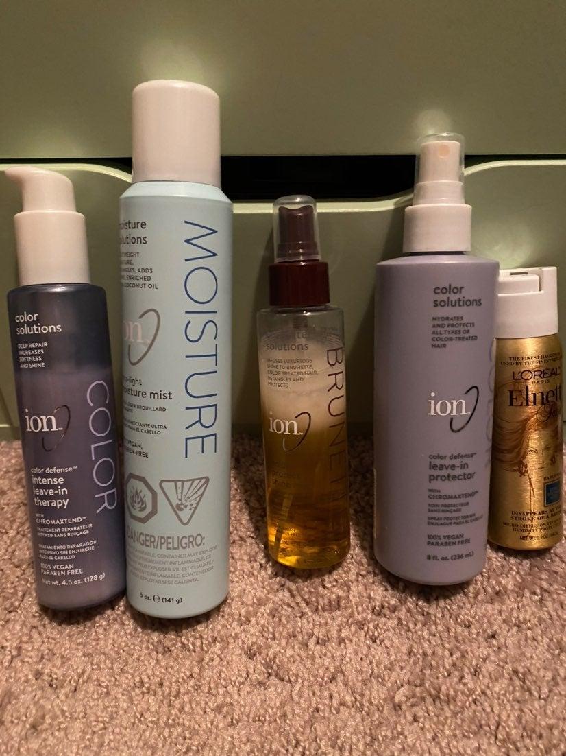 Ion hair bundle