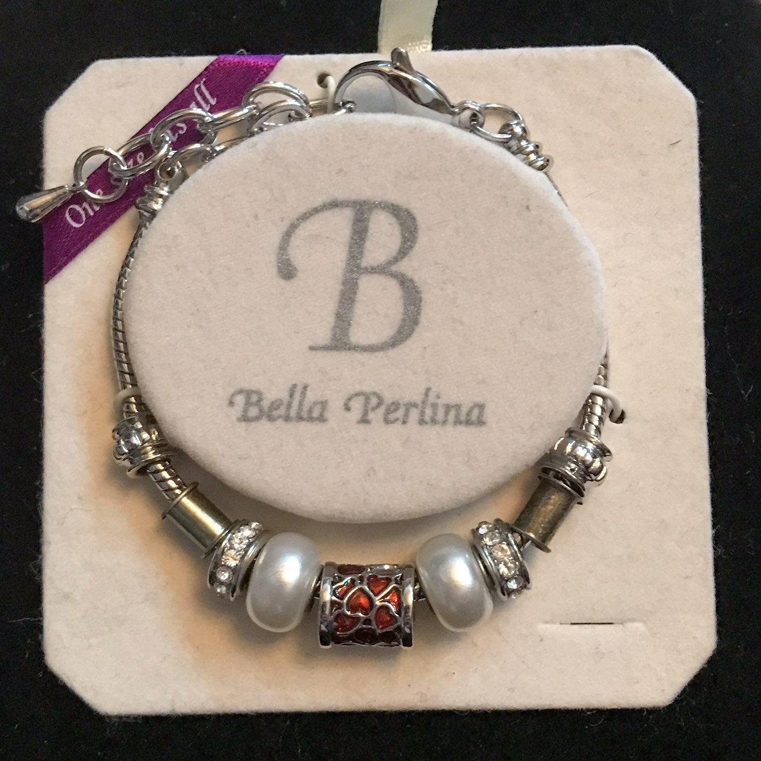 New Bella Perkins Bracelet w/charms