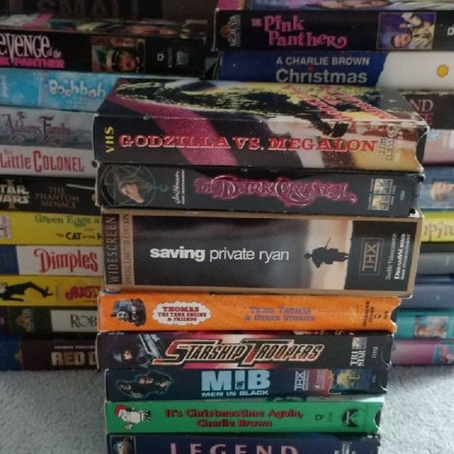 Lot of 29 Various VHS Tapes