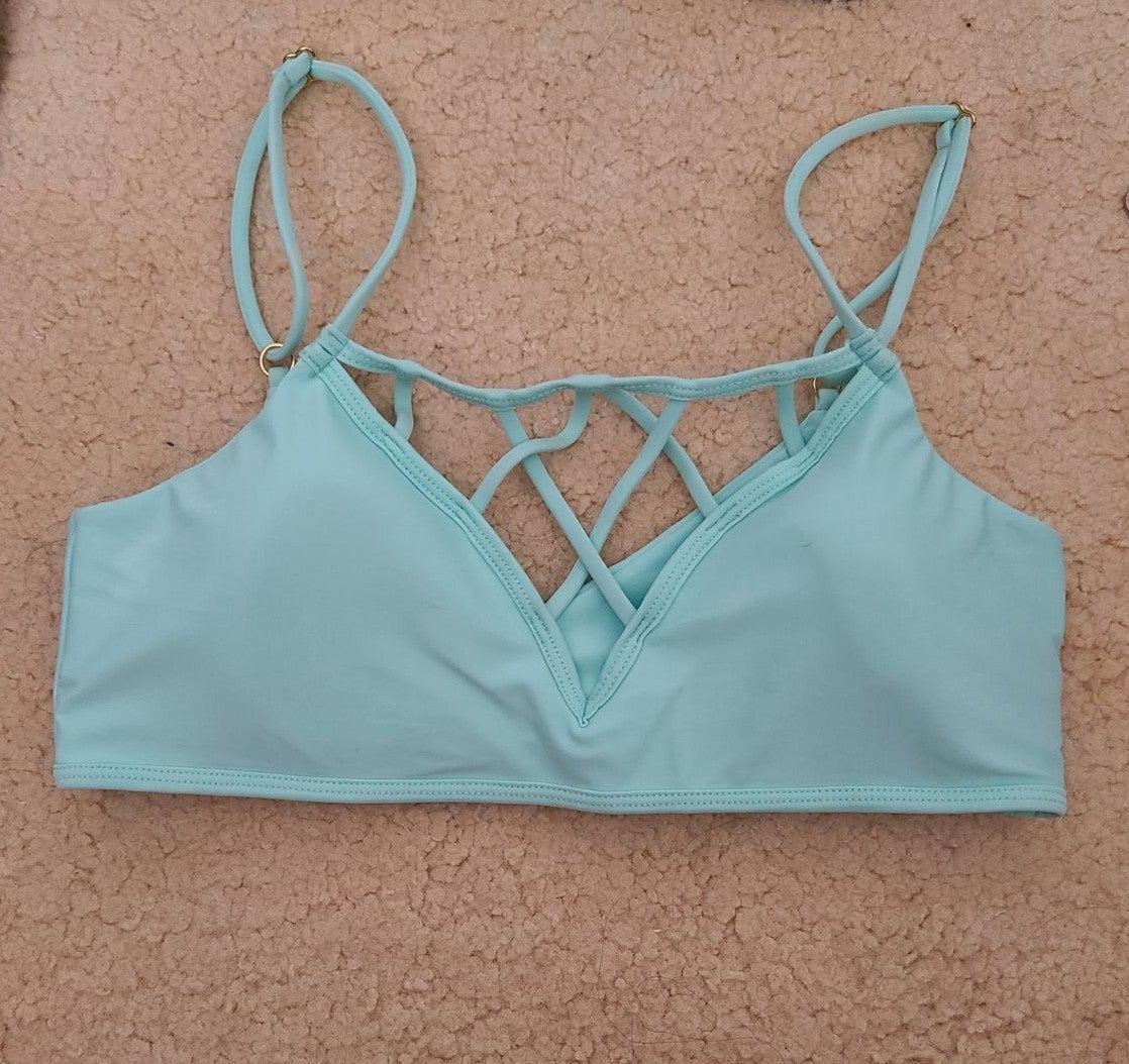Mint Green Issa de Mar Bikini Top