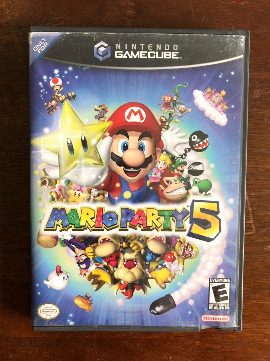 Mario Party 5 Case/Manual Only Gamecube