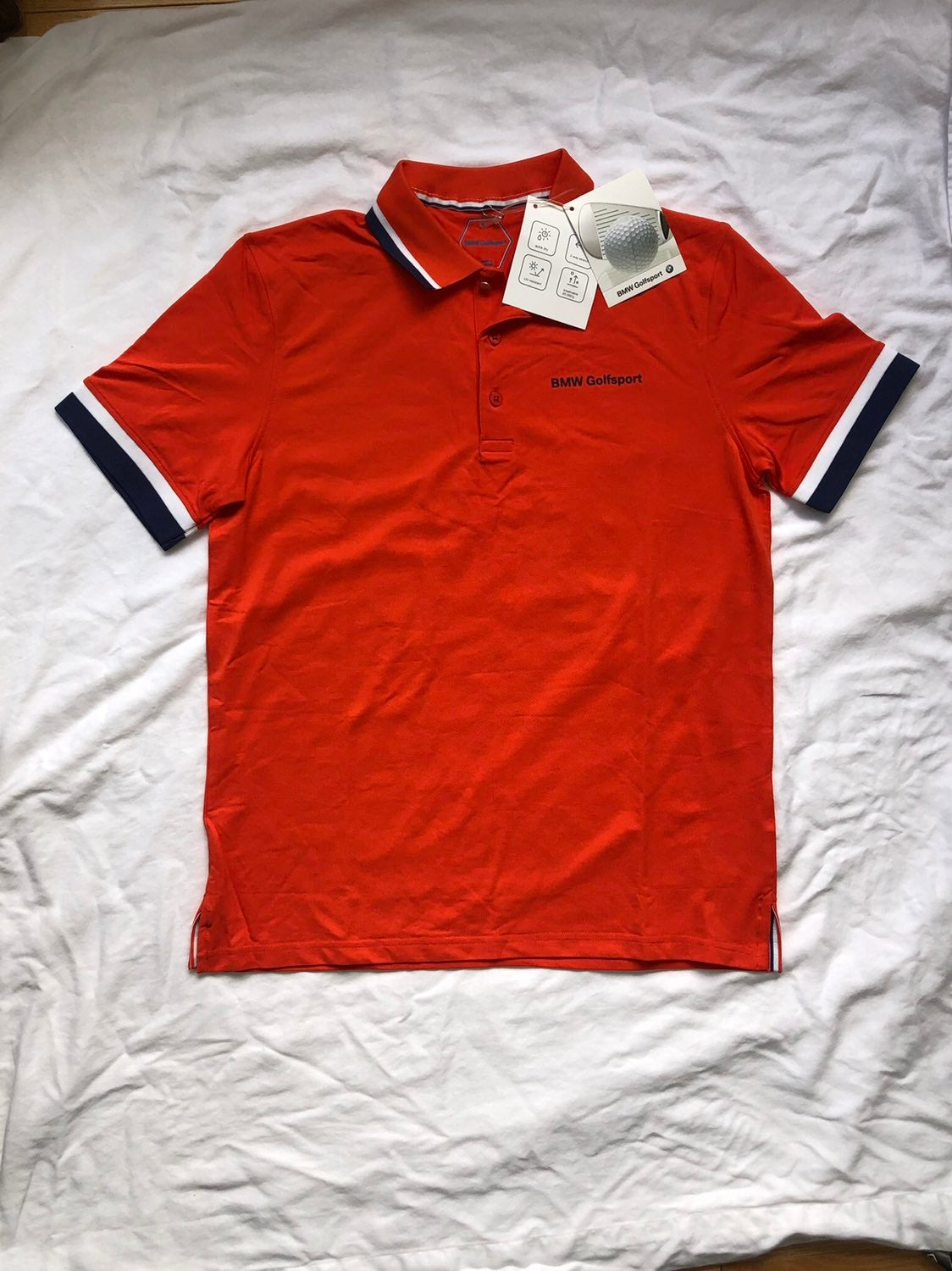 BMW Golfsport Polo Shirt NWT