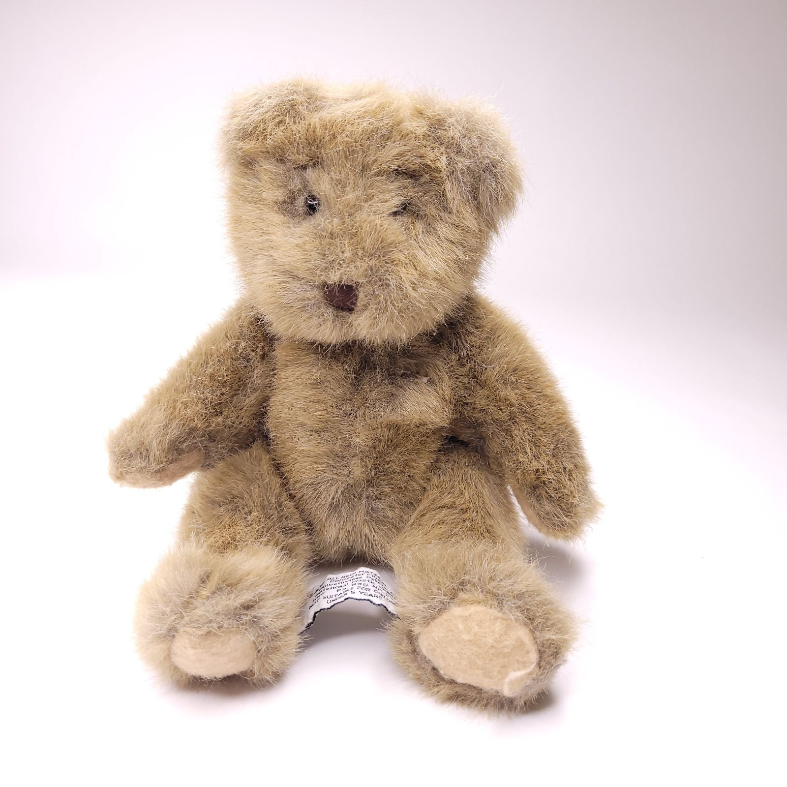 Russ Berrie Buckingham Jointed Tan Bear