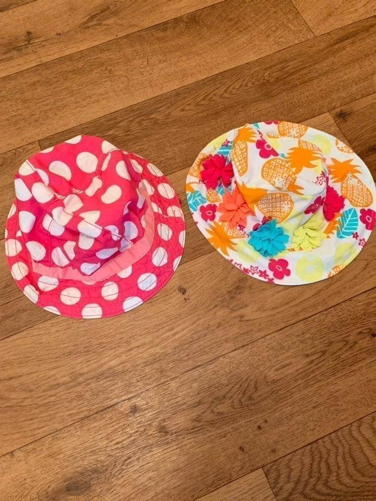 Toddler or baby girls Beach/Sun Hats