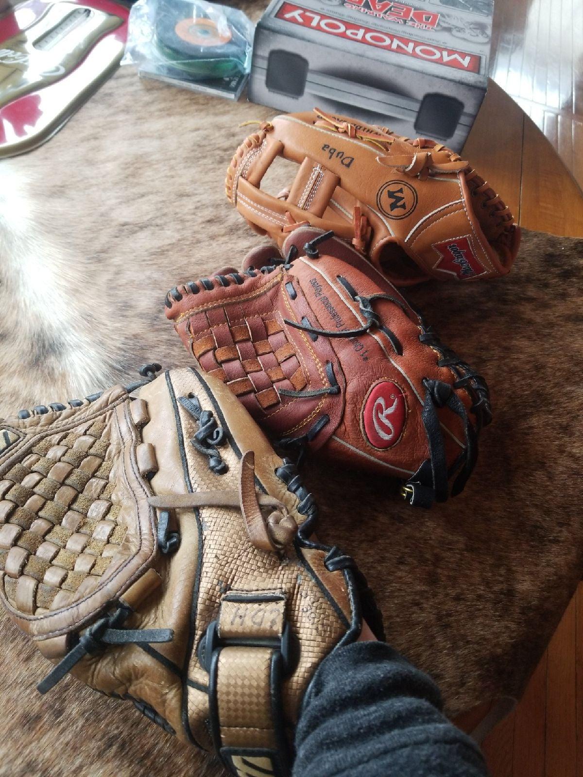 Glove lot ALL 3!