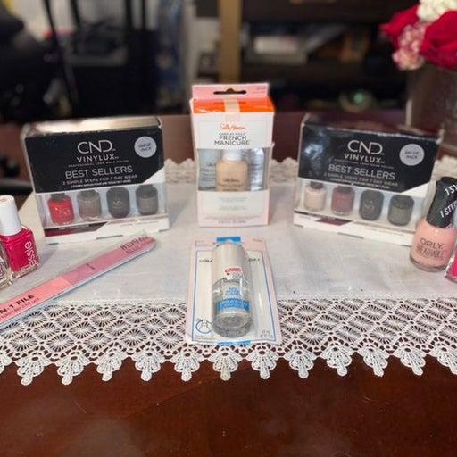 Nail polish bundle CND Sally Hansen